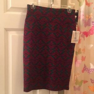 Stretch pencil skirt LulaRoe classic sm